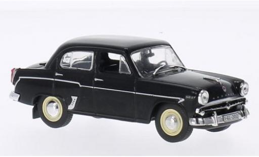 Moskwitsch 407 1/43 SpecialC 75 Limousine noire sans Vitrine miniature