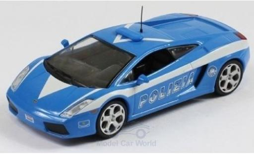 Lamborghini Gallardo 1/43 SpecialC 80 Polizia ohne Vitrine miniature