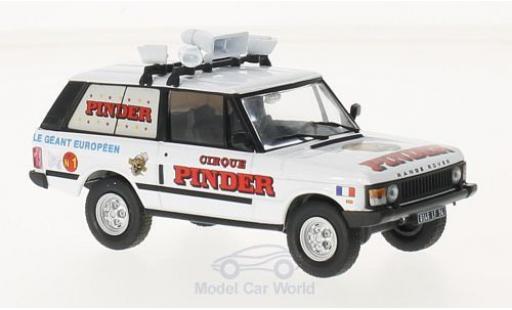 Land Rover Range Rover 1/18 SpecialC 87 Pinder ohne Vitrine miniature