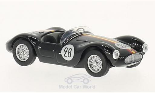 Maserati A6 1/43 SpecialC 89 GCS/53 No.28 24h du Mans 1954 A.de Portago/C.Tomasi ohne Vitrine miniature