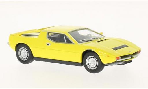 Maserati Merak 1/43 SpecialC 89 3000 SS jaune 1972 sans Vitrine miniature