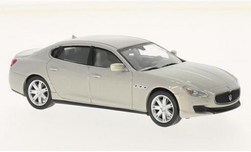 Maserati Quattroporte 1/43 SpecialC 89 GTS metallise grise sans Vitrine miniature