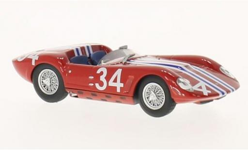 Maserati Tipo 1/43 SpecialC 89 61 Drogo RHD No.34 GP Reims 1963 L.Casner sans Vitrine miniature
