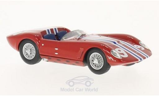 Maserati Tipo 1/43 SpecialC 89 61 No.9 Birdcage-Drogo GT Trophy 1963 L.Casner ohne Vitrine miniature