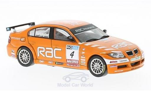 Bmw 320 1/43 SpecialC 92 si (E90) No.4 WSR Team RAC BTCC 2009 C.Turkington ohne Vitrine diecast model cars