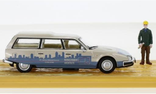 Citroen CX 1/43 SpecialC 93 Break Patrice Robert Architecte mit Figur ohne Vitrine miniature