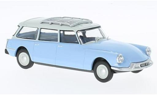 Citroen ID 19 1/43 SpecialC 93 Break blue/white Veterinaire (F) avec figurines diecast model cars