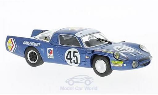 Alpine A210 1/18 SpecialC 94 Renault A 210 No.45 Société des Automobiles 24h Le Mans 1969 J-C.Killy/B.Wollek diecast