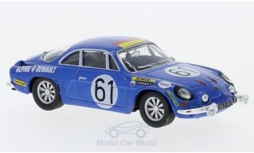 Alpine A110 1/18 SpecialC 94 Renault No.61 24h Le Mans 1968 J.Bourdon/M.Nussbaumer ohne Vitrine diecast