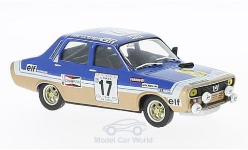 Renault 12 Gordini 1/43 SpecialC 94 Gordini No.17 Tour de Corse 1975 D.Pironi/G.Bonnamour miniature