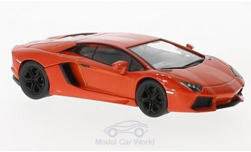 Lamborghini Aventador 1/43 SpecialC 98 LP 700-4 orange 2010 miniature