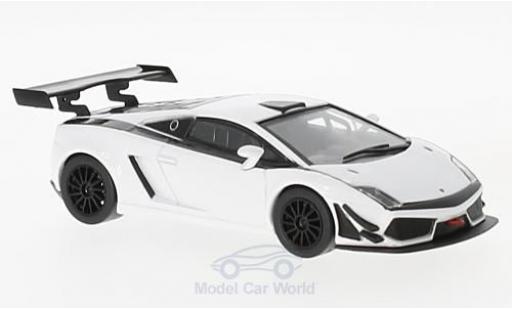 Lamborghini Gallardo 1/43 SpecialC 98 LP 600+ blanche 2011 miniature