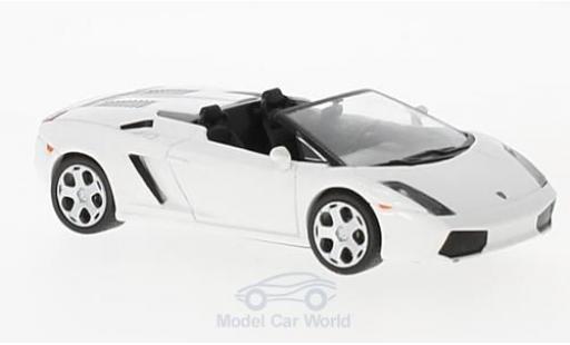Lamborghini Gallardo Spyder 1/43 SpecialC 98 Spyder blanche 2005 miniature