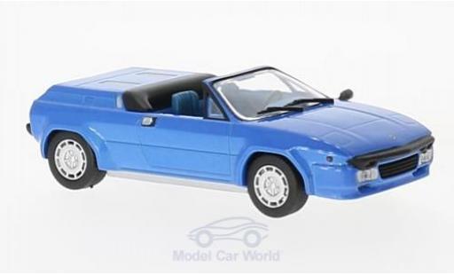 Lamborghini Jalpa 1/43 SpecialC 98 Spyder métallisé bleue 1987 Prougeotype miniature