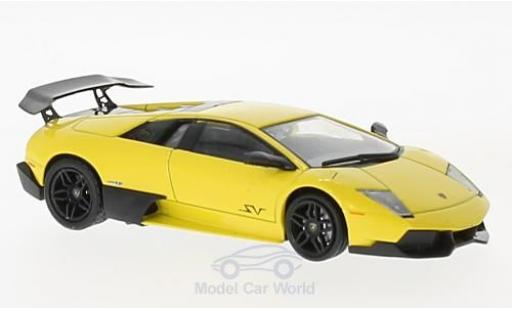 Lamborghini Murcielago 1/43 SpecialC 98 LP 670-4 Superveloce yellow 2009 diecast model cars