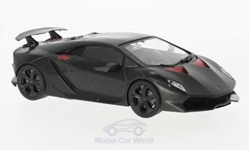 Lamborghini Sesto Elemento 1/43 SpecialC 98 matt-black/red 2010 diecast model cars