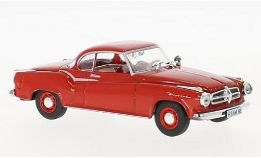 Borgward Isabella 1/43 SpecialC 99 Coupe rouge 1957 sans Vitrine miniature