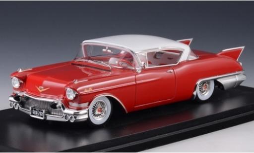 Cadillac Eldorado 1/43 Stamp Models Seville rouge/blanche 1957 miniature