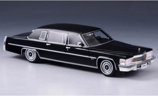 Cadillac Fleetwood 1/43 Stamp Models Limousine noire/matt-noire 1978 miniature