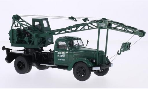 Zil 164 1/43 Start Scale Models ZIL LAZ-690 verte avec construction de grues miniature