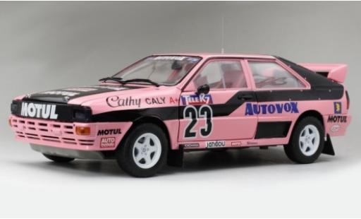 Audi Quattro 1/18 Sun Star A1 No.23 Autovox Rallycross EM Frankreich 1987 C.Caly coche miniatura