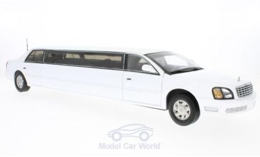 Cadillac Deville 1/18 Sun Star DeVille Limousine blanche 2004 miniature