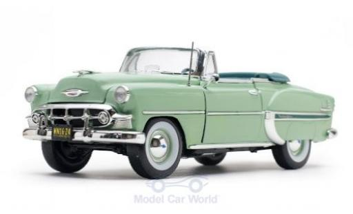 Chevrolet Bel Air 1/18 Sun Star Convertible verte 1953 miniature