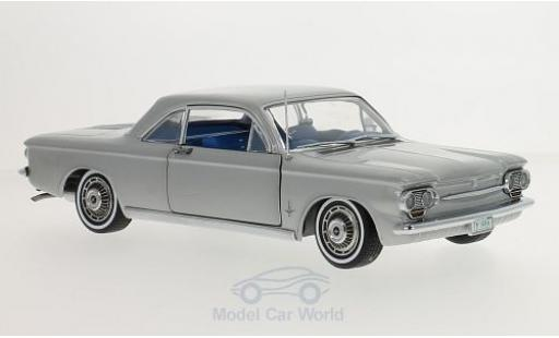 Chevrolet Corvair 1/18 Sun Star Coupe grise 1963 miniature