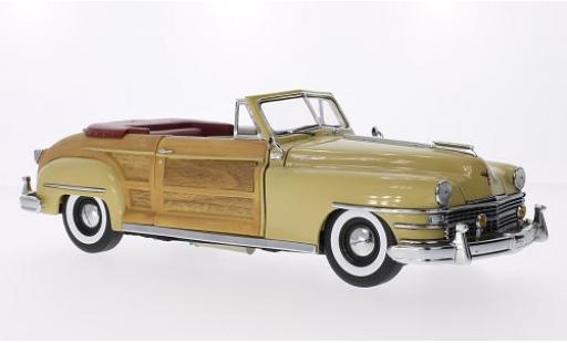 Chrysler Town & Country 1/18 Sun Star beige/Holzoptik 1948 miniature