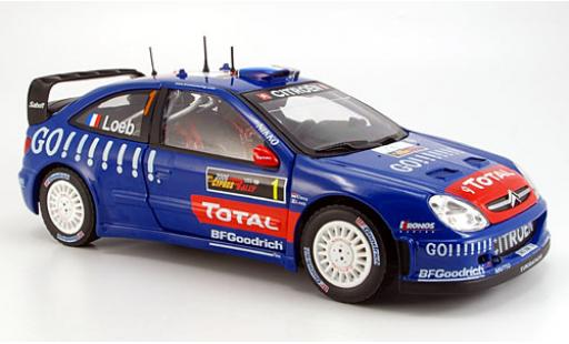 Citroen Xsara 1/18 Sun Star WRC No.1 Total Rallye Zypern 2006 diecast model cars