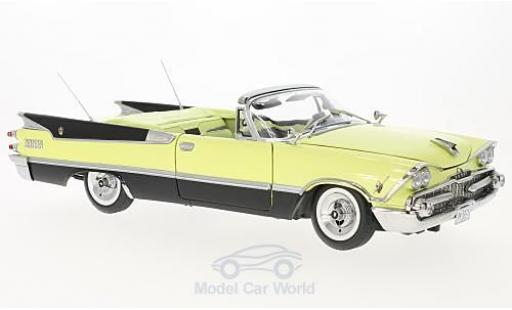 Dodge Custom Royal Lancer 1/18 Sun Star Convertible jaune/noire 1959 miniature