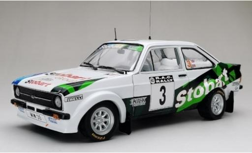 Ford Escort 1/18 Sun Star MkII RS 1800 No.3 Stobart RAC Rally 2008 M.Wilson/J.Millington diecast model cars