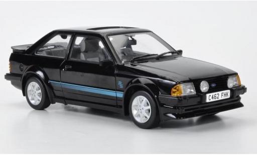 Ford Escort 1/18 Sun Star MKIII RS Turbo black/Dekor RHD 1984 gefahren des Lady Diana diecast model cars