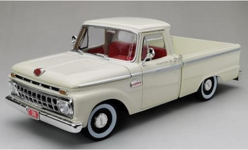 Ford F-1 1/18 Sun Star 00 Custom Cab Pickup white 1965 diecast model cars