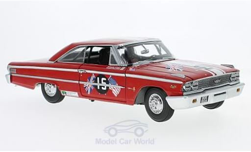 Ford Galaxy 1/18 Sun Star Galaxie 500 XL No.15 Goodwood Revival 2011 St. Marys Trophy Race 1963 B.Williams/M.Steele miniature