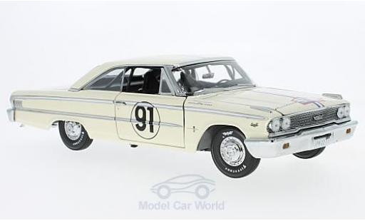 Ford Galaxy 1/18 Sun Star Galaxie 500 XL No.91 Tour de France Auto 1963 H.Greder/M.Foulgoc modellino in miniatura