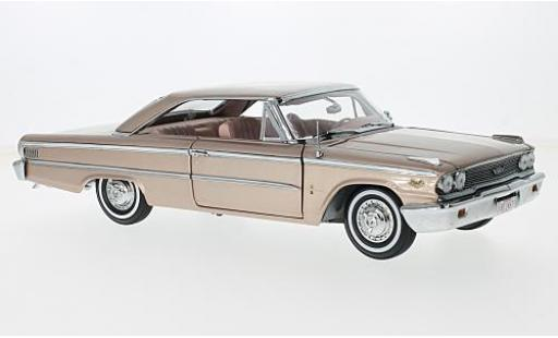 Ford Galaxy 1/18 Sun Star Galaxie 500XL HardTop metallise rose 1963 miniature