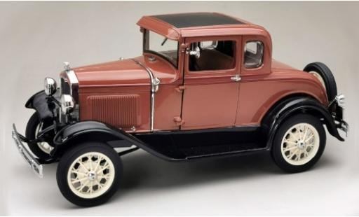 Ford Model A 1/18 Sun Star Coupe marron/noire 1931 miniature