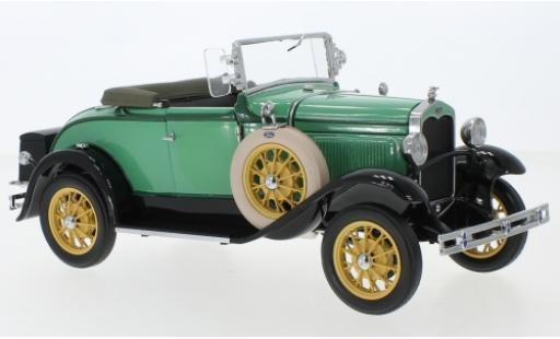 Ford Model A 1/18 Sun Star Roadster green 1931 diecast model cars