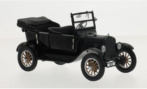 Ford Model T 1/24 Sun Star Touring noire 1925 Verdeck ouvert miniature
