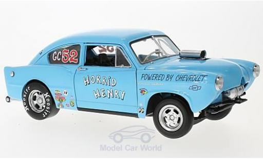 Kaiser Henry J 1/18 Sun Star Gasser bleue Horrid Henry 1951 miniature