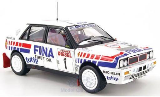 Lancia Delta 1/18 Sun Star HF Integrale 16V No.1 Fina Rallye WM Rallye Sanremo 1991 D.Auriol/B.Occelli miniature