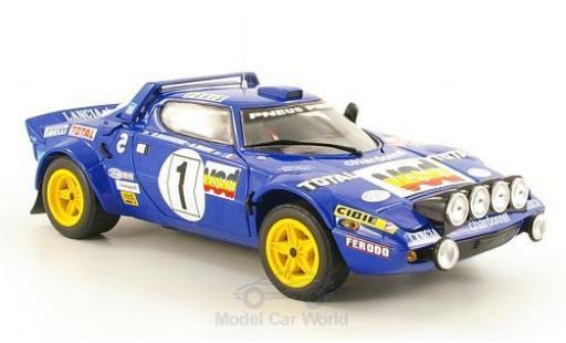 Lancia Stratos 1/18 Sun Star HF No.1 Rallye WM Rallye Monte Carlo 1980 B.Darniche/A.Mahe ohne Vitrine miniature