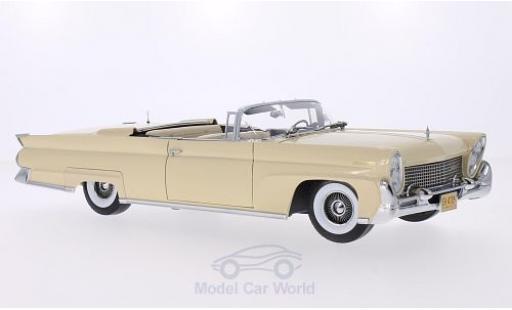Lincoln Continental 1958 1/18 Sun Star Mark III Convertible beige 1958 miniature