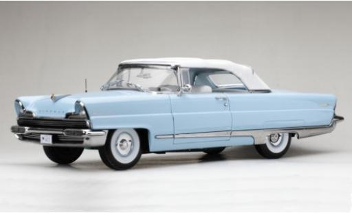 Lincoln Premiere 1/18 Sun Star Convertible bleue/blanche 1956 miniature