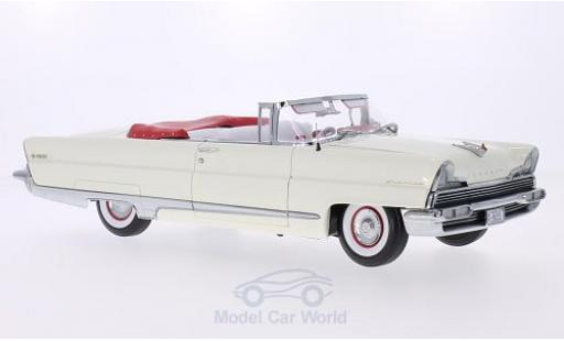 Lincoln Premiere 1/18 Sun Star Convertible blanche 1956 miniature
