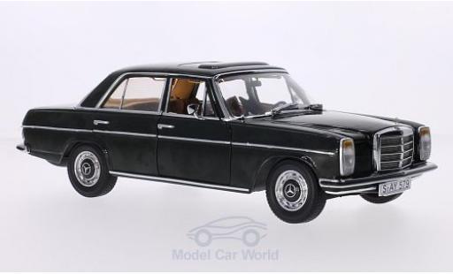 Mercedes 220 1/18 Sun Star (W115) dunkeloliv /8 (Strich-Acht) Limousine modellautos