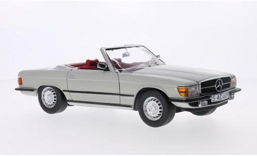 Mercedes 350 1/18 Sun Star SL (R107) grey 1977 Verdeck ouvert diecast model cars