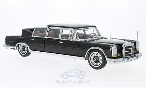 Mercedes 600 1/18 Sun Star Landaulet black 1966 diecast model cars