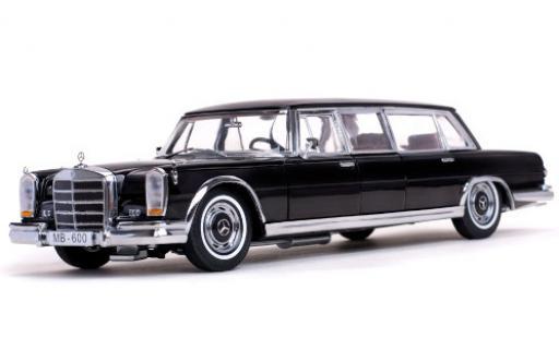 Mercedes 600 1/18 Sun Star Pullman (W100) black 1966 diecast model cars